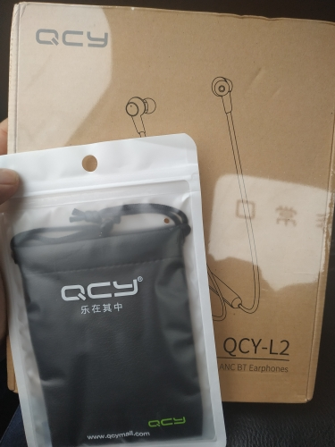 QCY L2 Wireless Headphones IPX5 Waterproof ANC Noise cancelling Wireless Earphones Bluetooth 5.0 Sport Headphones with Mic-in Bluetooth Earphones & Headphones from Consumer Electronics on AliExpress