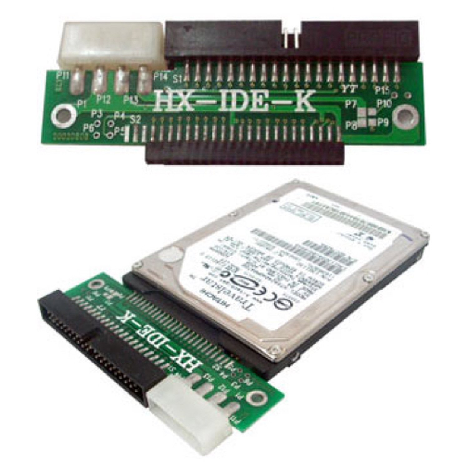 IDE Adapter Transforms Your Hard Disk 2.5 To 3.5