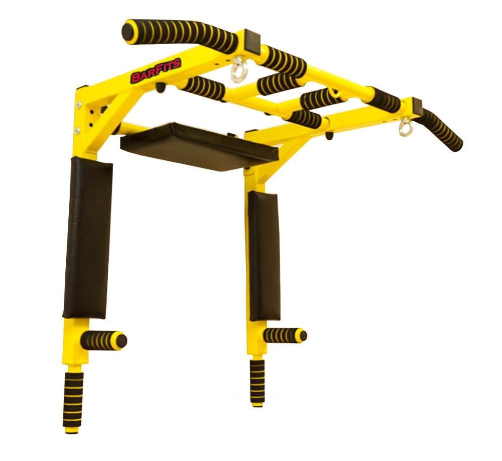 Horizontal Bar 3 In 1 Wall Bars Press Premium Yellow