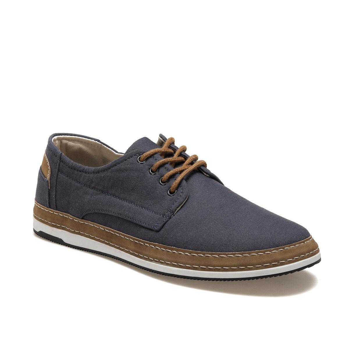 FLO G-120-1 Blue Men 'S Dress Shoes JJ-Styles