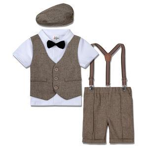 Свадебные платья для маленьких девочек костюм для маленьких мальчиков Одежда для джентльмена; Платье для крещения младенцев костюм-смокин...