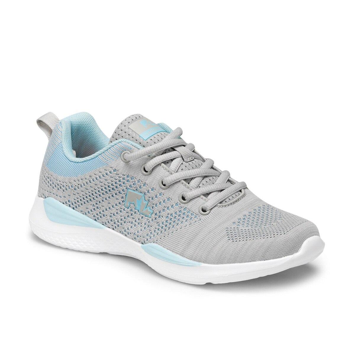 FLO WOLKY Light Gray Women 'S Sneaker Shoes LUMBERJACK
