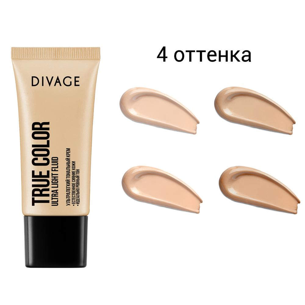 Cosmetics divage cream foundation true color image