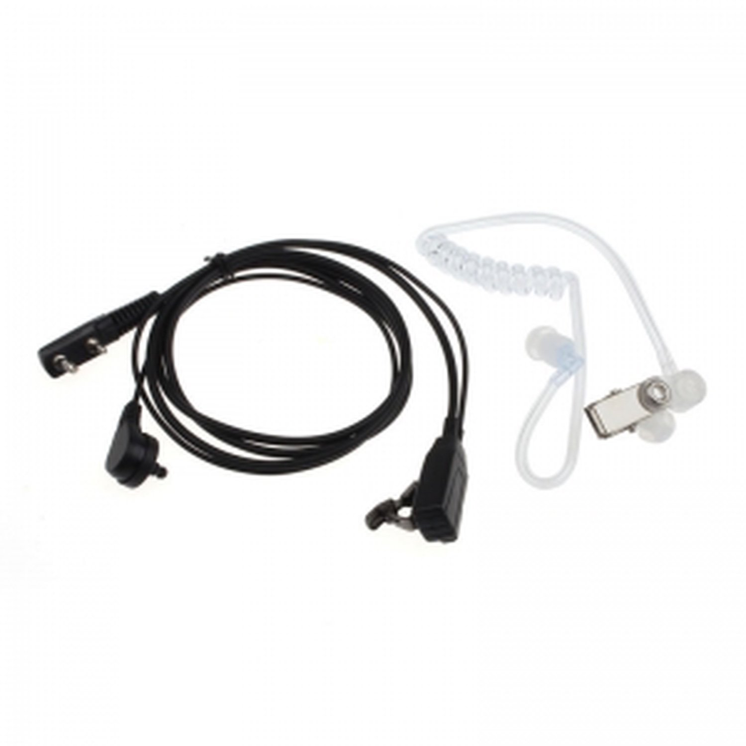 Transparent Pinganillo Earphone For Walkie Talkie Baofeng BF-888S And UV5R