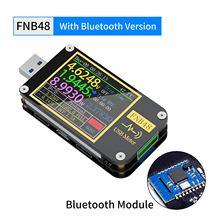 FNIRSI-FNB48 voltímetro amperímetro voltímetro atual usb tester pd gatilho qc4 + pd3.0 2.0 pps protocolo de carregamento rápido teste de capacidade