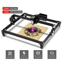 Deux arbres Totem CNC Machine de gravure Laser 2500mW 5500mW 30*40cm Mini bricolage 2 axes Installation facile avec 2 * A4988 pilotes de moteur