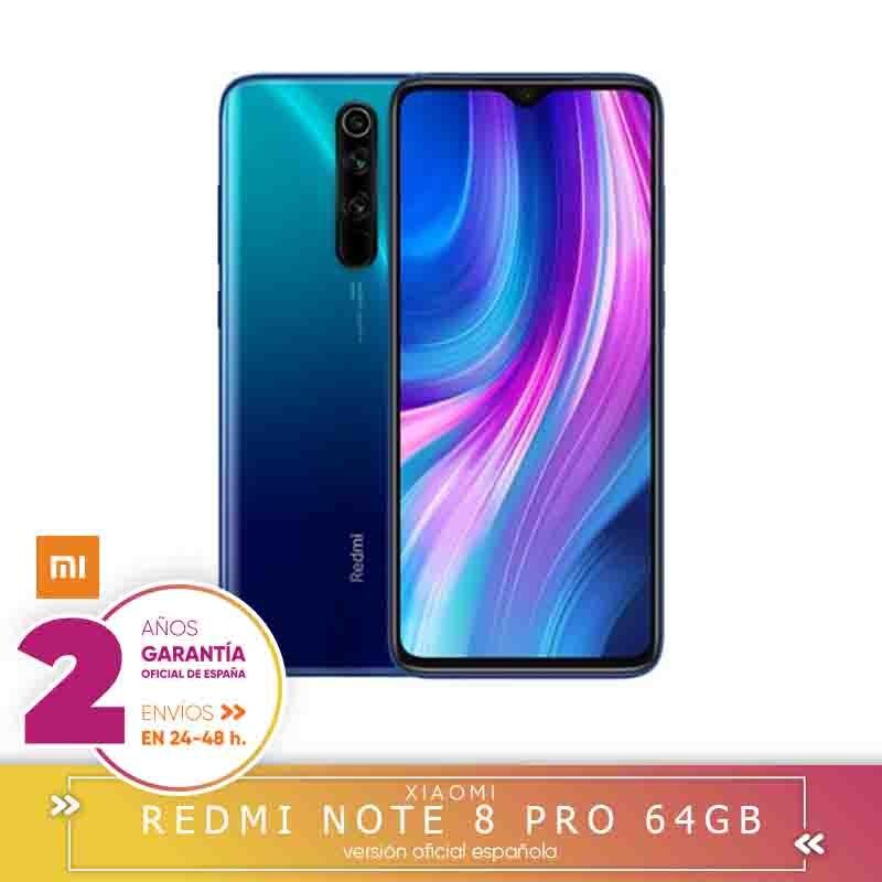 -Guarantee Official Spanish-Xiaomi Note Redmi 8 Pro 6 Hard Gb 64 Hard Gb Smartphone 64MP Quad Still Cameras MTK Helium G90T Octa Core 4500 MAh