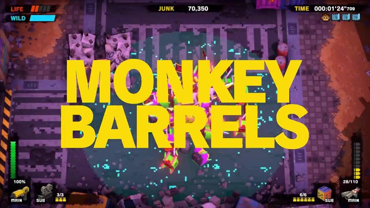 原NS游戏《猴子桶战》将于2月6日登陆PC