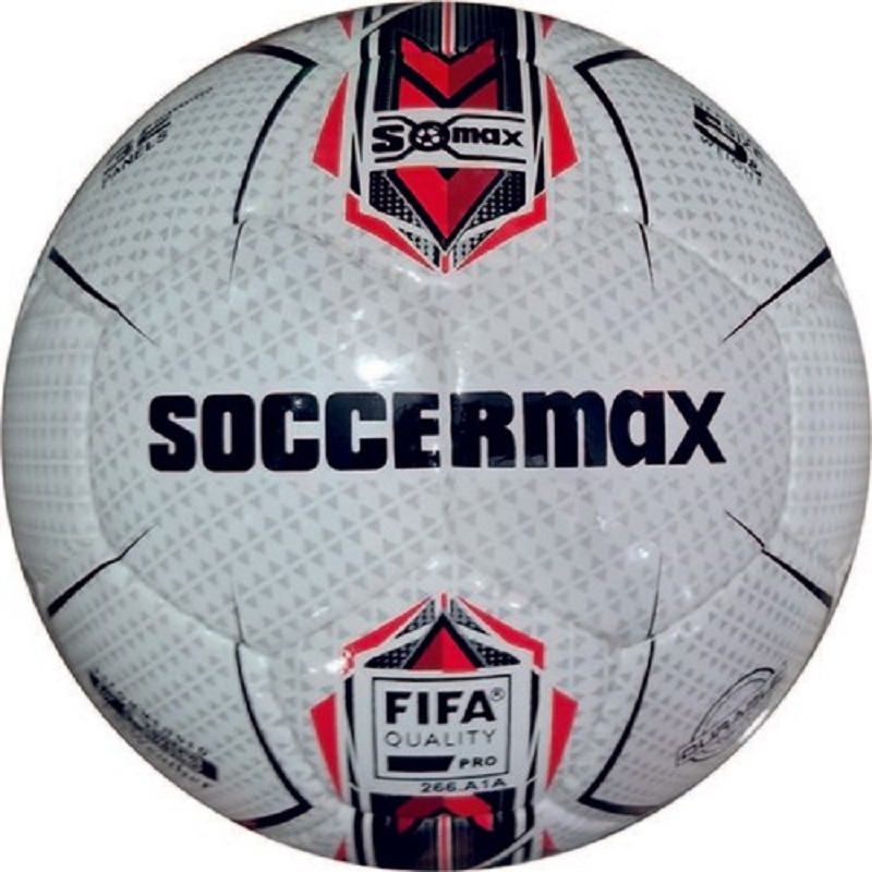 Vertex Soccermax Premium Match Soccer Ball BLACK WHITE RED SIZE 5 ORIGINAL Euro 2020 Fifa WORLD CUP Football Matchs SOCCER Shoes