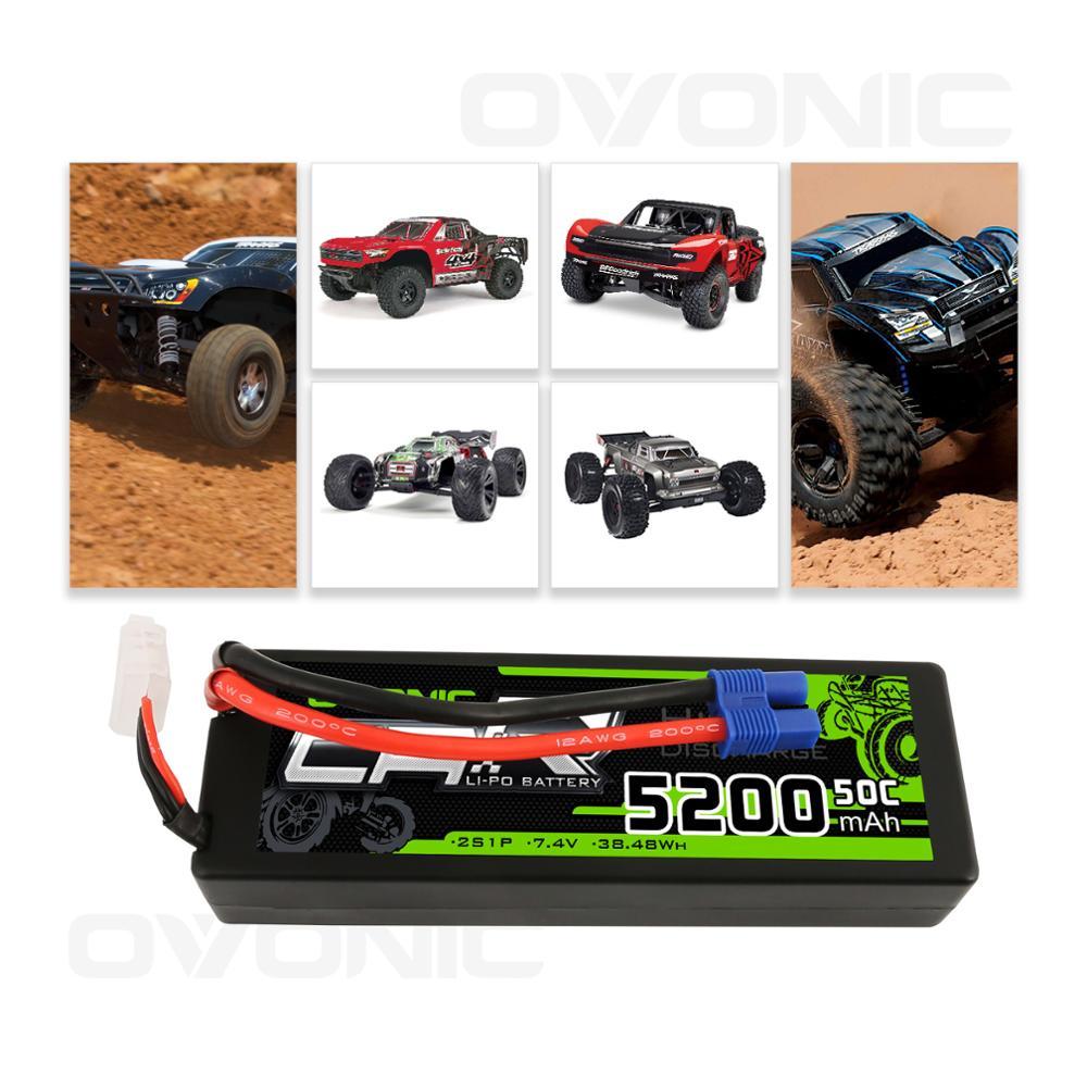 Купить аккумулятор литий полимерный ovonic 5200 мач 74 в 2s1p 50c 24