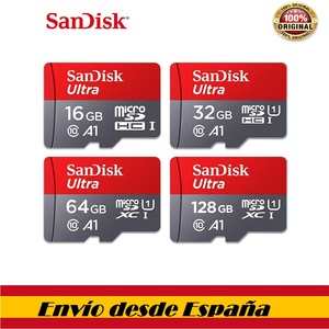 100%, Sandisk class10, micro tf sd карта, 16, 32 ГБ, 64 ГБ, 128 ГБ, micro sd карта, карта памяти