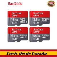 100% original Sandisk class 10 tarjeta sd microsd tf card 16 gb 32 gb 64 gb 128 gb Tarjeta de Memoria micro sd