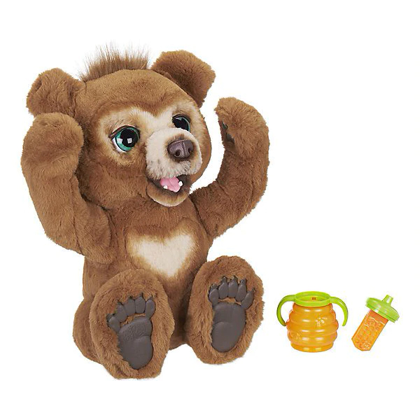"""Peluche Interactive amis FurReal """"ours russe"""""""
