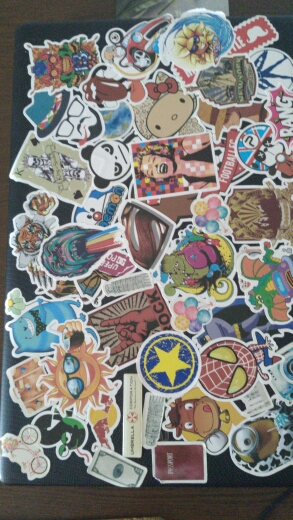 50 pcs/pack Classic Fashion Style Graffiti Stickers For Moto car & suitcase cool laptop stickers Skateboard sticker toys