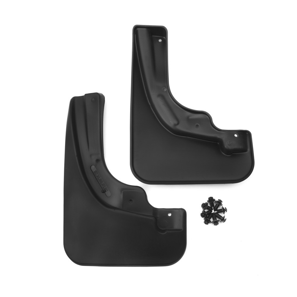 Front mud flaps for OPEL Corsa D 2006, cotton. (optimum) in the package цена