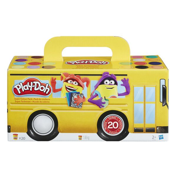 Play-Doh 20xPack Back To School Hasbro