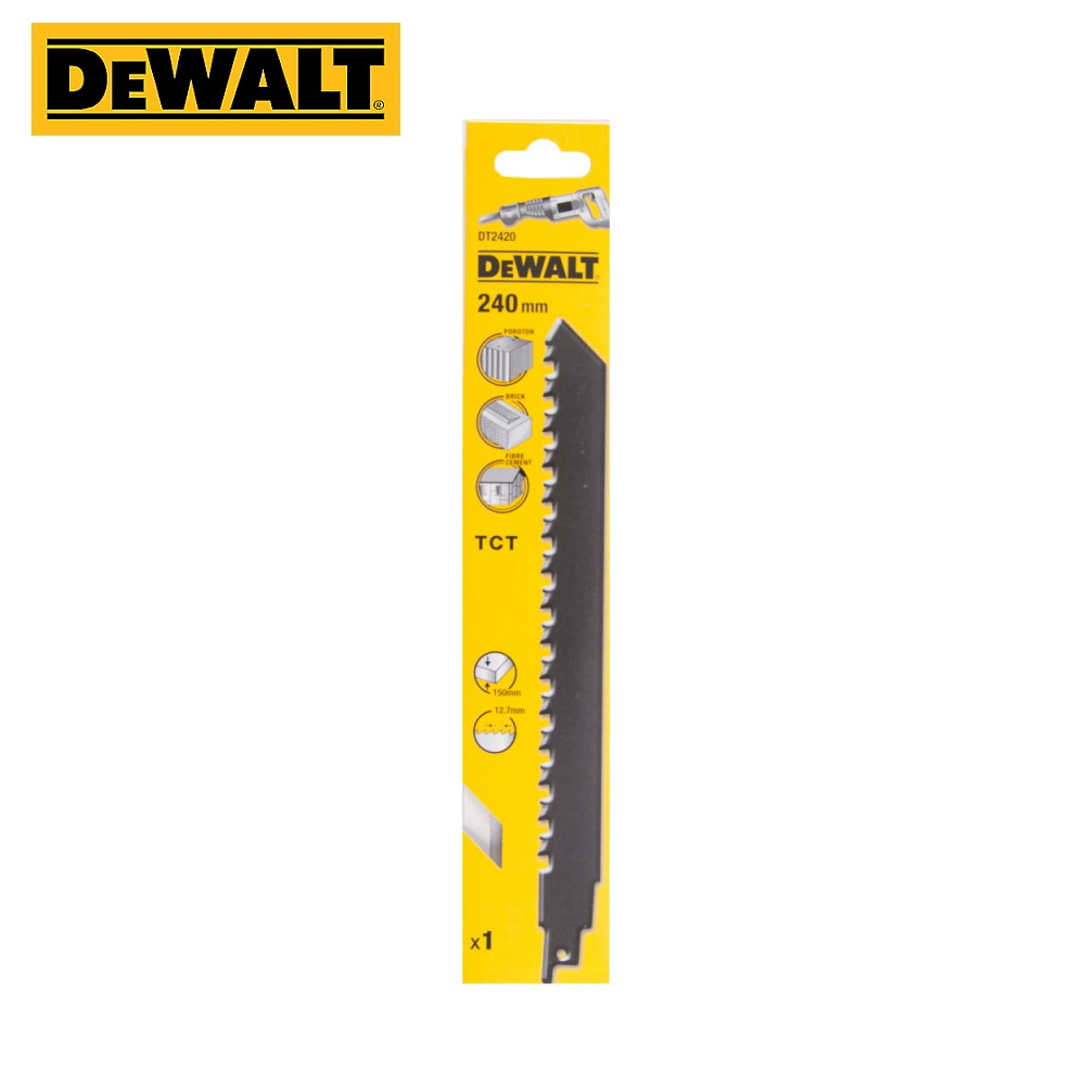 Canvas With Tungsten-carbide Teeth For сабельной Saw DeWalt DT2420-QZ Construction Tool Construction Accessory For Cutting Delivery From Russia