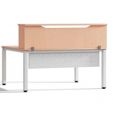 MODULE RECEPTION LOFT 160cm OAK/OAK SIZE 160x40x30cm (Table Not Included In The Price, You Buy Separately)