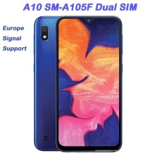 """""""Samsung Galaxy A10 A105F 6.2"""""""" Unlocked Cell Phone Refurbished 2GB RAM 32GB ROM 13mp Mobile Phone Dual SIM Android Smartphone"""""""