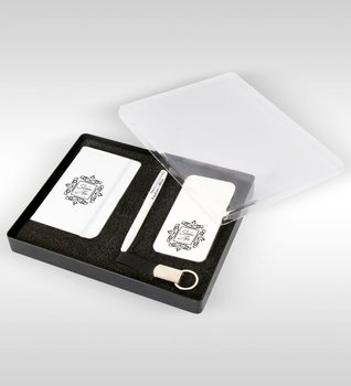 Personalized Is Power Bank Pen Keychain VIP Gift Set-5