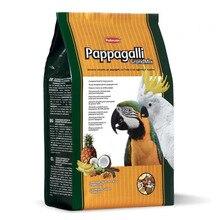 Корм для птиц PADOVAN Grandmix Pappagalli основной для крупных попугаев комплексный 2кг
