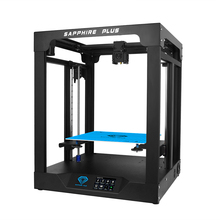 TWO TREES 3D Printer Sapphire plus CoreXY BMG Extruder + TMC2208 Core xy 300*300*350mm DIY Kits 3.5 inch touch screen facesheild