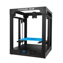 Twotrees 3D yazıcı safir PLUS 300x300x350mm profesyonel DIY kitleri çekirdek xy 3.5 inç dokunmatik ekran facesheild withTMC2208