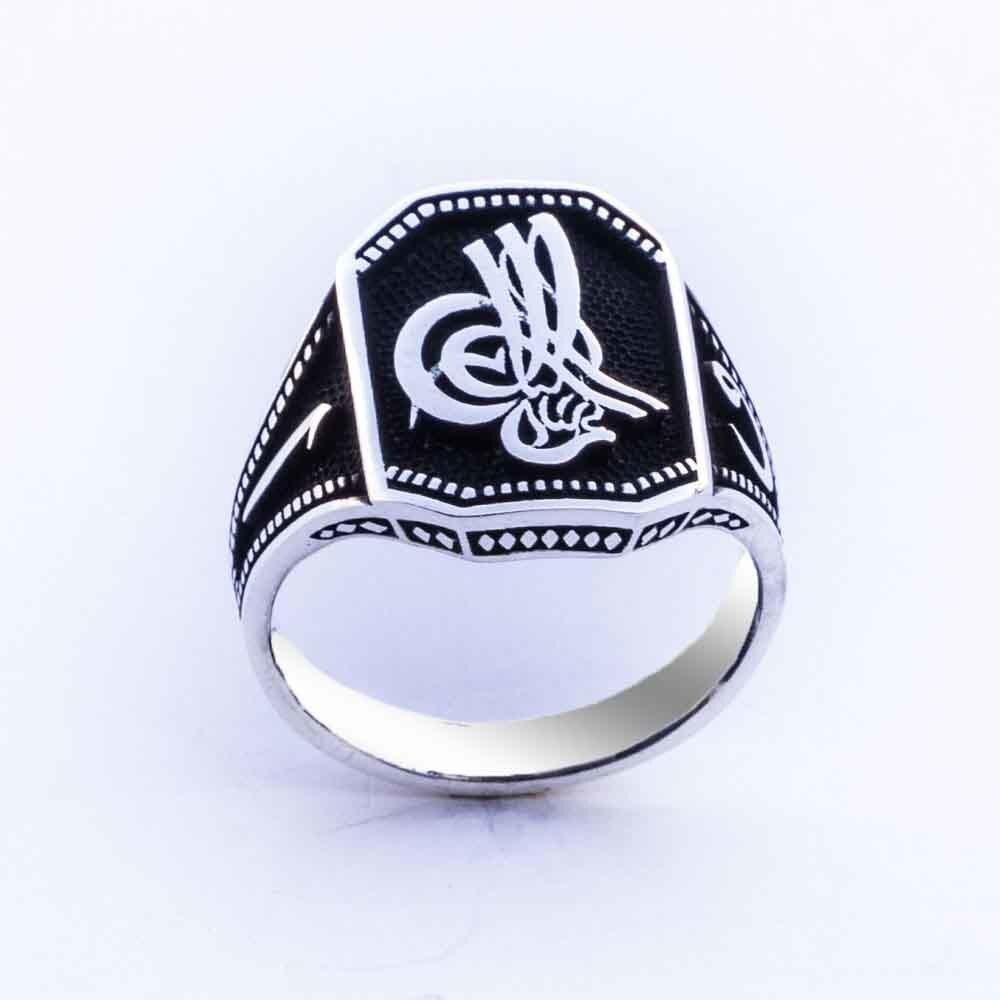 925 sterling Silver Ottoman Tuğralı Ring()