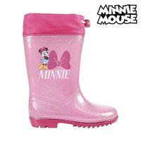 미니 마우스 핑크 어린이 부츠