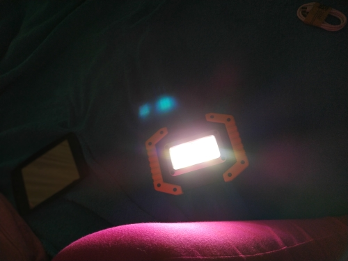 Lanternas portáteis 3-modo Trabalho Acampamento