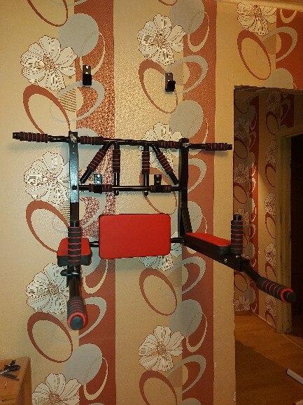 Turnstile 3 in 1 wall mounted premium 2.0 barfits bars Press|Horizontal Bars|   - AliExpress