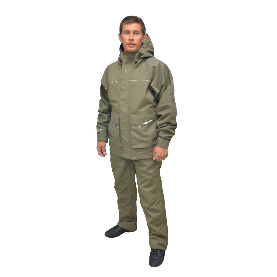 Suit From The Rain Membrane Aquatic K-15x, Khaki K-15x 46-48