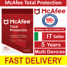 McAfee Total Protection 2020/2021 Multi Devices 5 Years