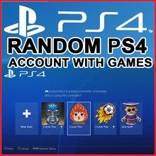 Conta ps4 aleatória psn com jogos pagos completos garantidos para playstation 4