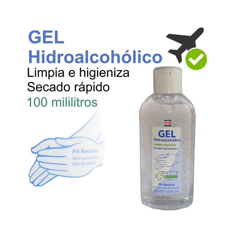 Gel De Manos Hidroalcohólico Disinfectant 100ml-no Water Wash De Manos, Autosecante-American Clean And Higieniza