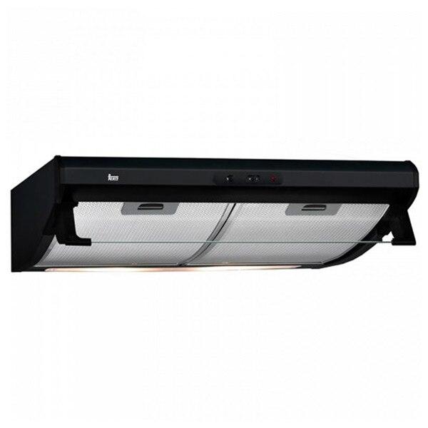 Conventional Hood Teka C6420BK 60 Cm 375 M3/h 73 DB 316W Black Inox