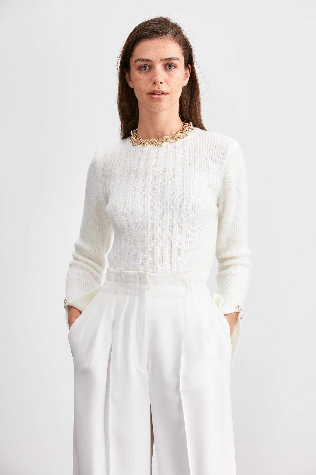 Trendyol Handles Stone Sweater Sweater TWOAW20KZ1092