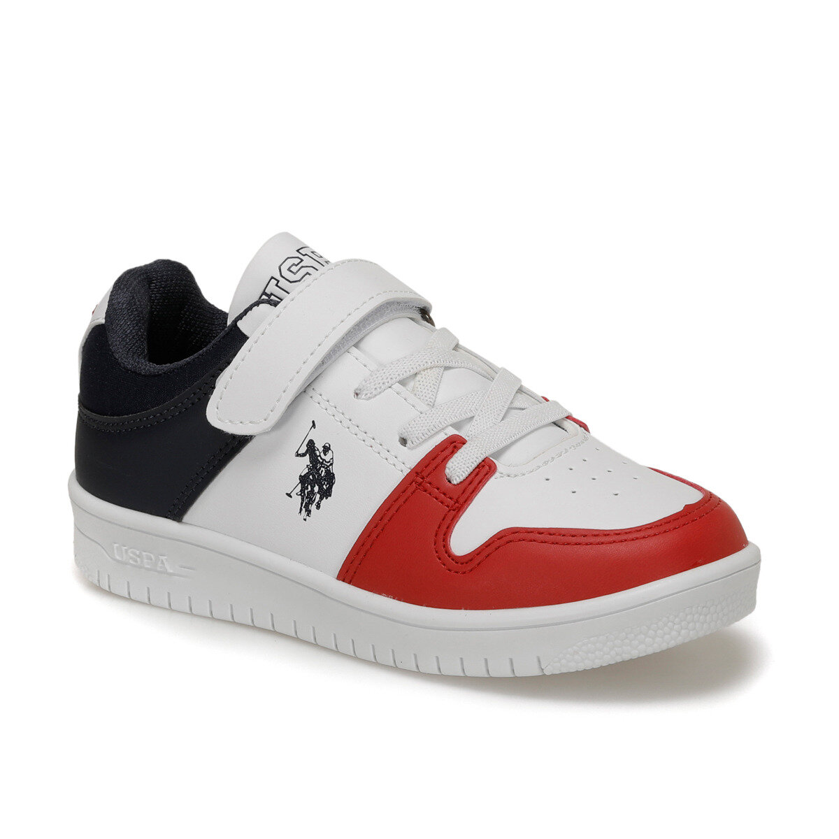 FLO DOUGLAS White Male Child Sneaker Shoes U.S. POLO ASSN.