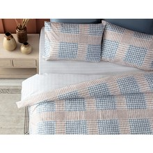 Duvet-Cover Madame Coco Chevre Luxury Bedspreads Home-Textile Ranforce Set-Blue/earth-Bed-Covers