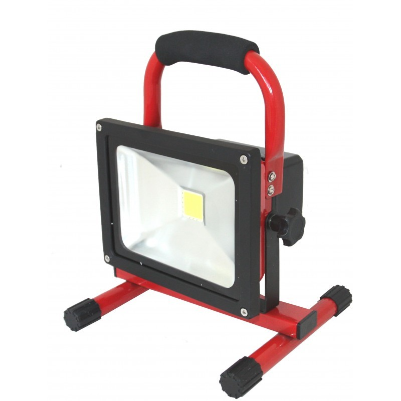 Fokus LED 20 W <font><b>12</b></font> <font><b>V</b></font> + Batterie + Feeder <font><b>12</b></font>/24 <font><b>V</b></font>/<font><b>230</b></font> <font><b>V</b></font> image