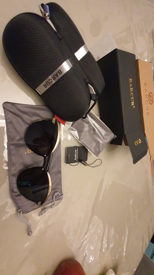 <strong>BARCUR Cat Eye</strong> - Polarized Women Round Sunglasses photo review