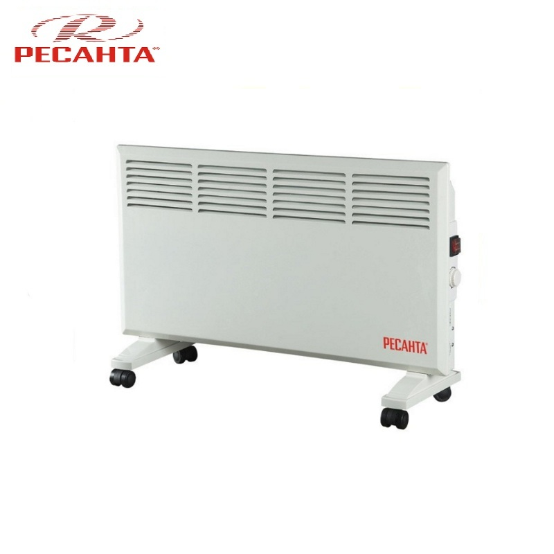 Convector RESANTA OK-1600 Heating device Electroconvector Forced convection heater Wall-hung convector Mechanical converter the convection heater resanta ok 1000s stitch
