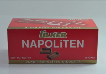 Ülker Napoliten mleczna czekolada 33 Gr (20 sztuk) smaczna czekolada sen wąż przerwy tanie i dobre opinie Mężczyzna 12 + y Z nami (pochodzenie)