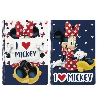 BOOK FOLIO 80 H HARDCOVER MINNIE M