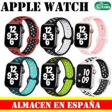 Ремешок для часов Apple iWatch, браслет для серии 1 / 2 / 3 / 4 / 5   38 / 40 / 42 / 44 мм, сменный, двухцветный