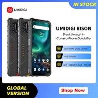 UMIDIGI BISON IP68/IP69K wodoodporny 6GB/8GB + 128GBRugged telefon 6.3