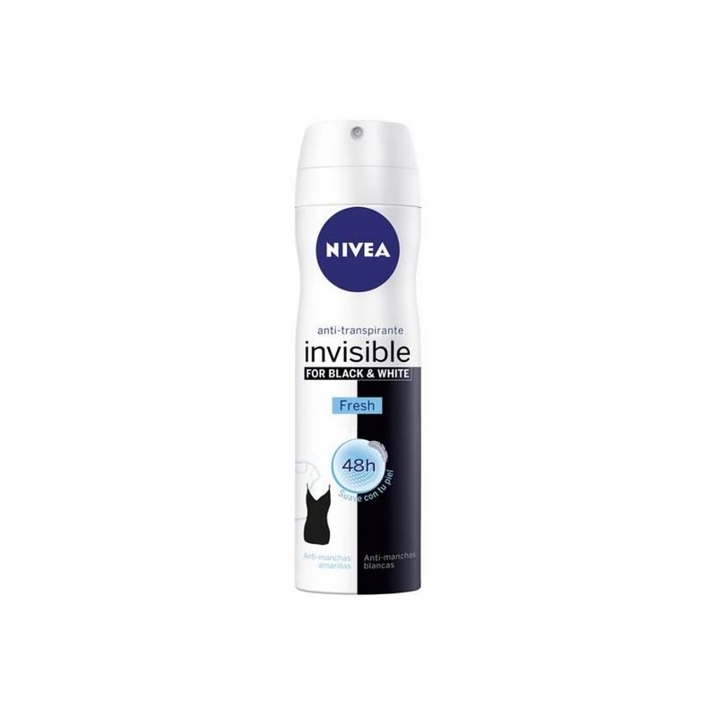 Deodorant Spray Black & White Unseen Fresh Nivea (200 Ml)