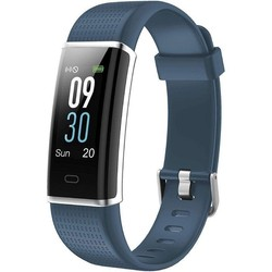 Quantifying bracelet sunstech fitlifehr blue-lcd screen 2.44cm - bt4.0 - bat 70mah-notifications-frequency heart