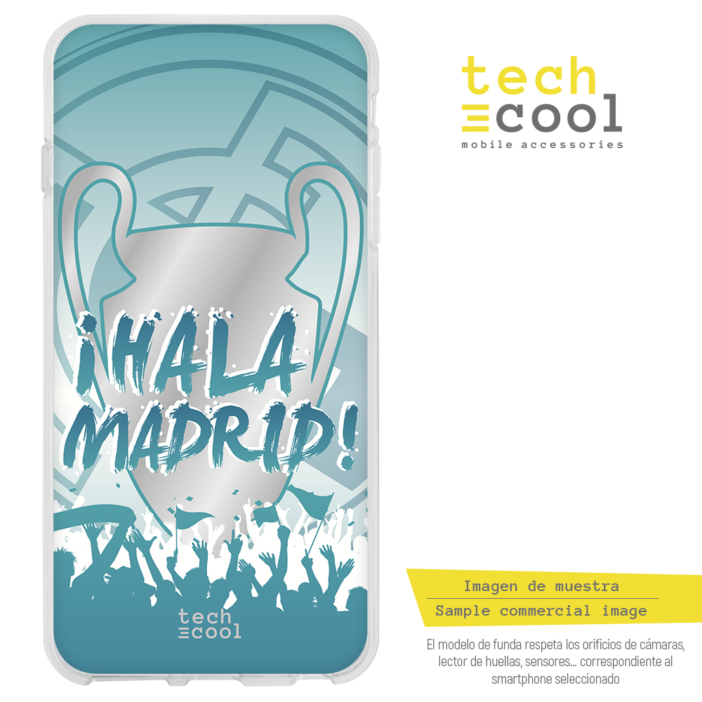 FunnyTech®Silikon stand fall für <font><b>IPhone</b></font> <font><b>6</b></font>/<font><b>IPhone</b></font> 6S <font><b>Real</b></font> <font><b>Madrid</b></font> fans