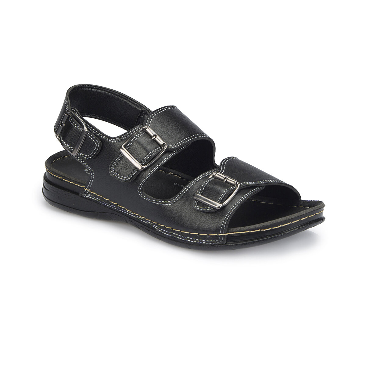 FLO 81.159035.M Black Men 'S Classic Shoes Polaris